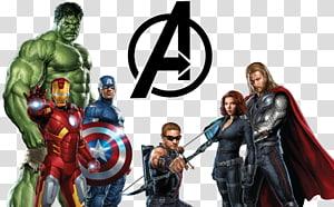 ilustração de vingadores de maravilhas, clint barton hulk ferro homem ultron, avengers hd PNG clipart