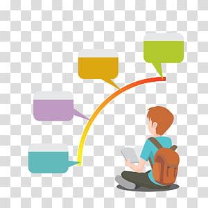 menino sentado enquanto segura a ilustração do livro, Student School Learning Education, crianças em idade escolar PNG clipart