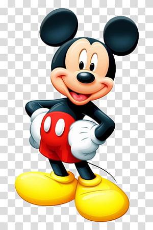 Ilustração do Mickey Mouse, o Mickey Mouse Falante Minnie Mouse O programa de televisão da Walt Disney Company, Mickey Mouse PNG clipart