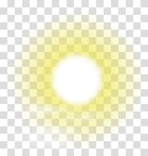 ilustração do sol, padrão de círculo amarelo claro do céu, material de auréola do sol PNG clipart