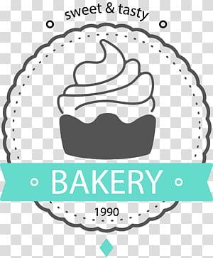 Cupcake Birthday cake Torte, Cupcakes simples, logotipo de padaria PNG clipart