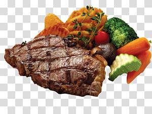 prato de bife, cozinha australiana Carne Canguru, Kok melão brócolis cenoura cogumelos bife grelhado PNG clipart