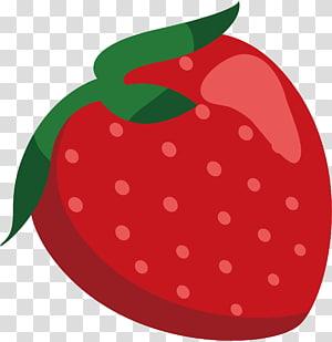ilustração de morango vermelho, morango desenho animação, morango png
