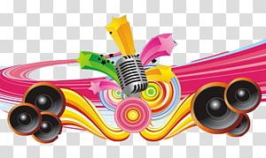 Música de fundo, fundo musical, ilustração musical PNG clipart