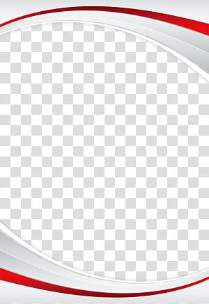 Ponto de ângulo de linha de marca, borda simples, ilustração branca e vermelha png