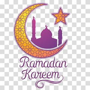 Ramadan Moon Islam, estrelas da lua, sinalização Ramadan Kareem PNG clipart