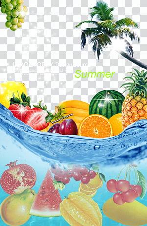 Cartaz de suco de toranja limão, frutas de verão pôsteres Fundo gelado, hoje Design Soure poster png