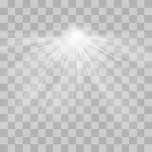 Padrão de simetria em preto e branco, efeito de luz radioativo, escala de cinza de lapso de tempo png