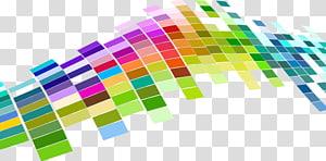 azulejos multicoloridos, mosaico cor padrão, abstrato geométrico colorido PNG clipart