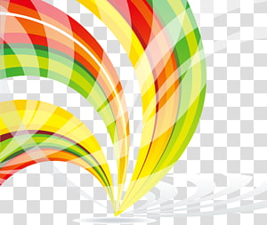 pintura abstrata verde e vermelha, geometria euclidiana Arte abstrata Abstração geométrica Azul, curva geométrica abstrata colorida PNG clipart