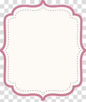 Ícone, borda de texto de pó de bebê fofo, fundo branco PNG clipart