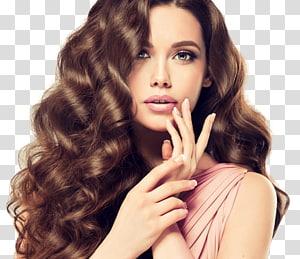 mulher prestes a tocar seus lábios, salão de beleza cuidados com os cabelos manicure e pedicure, cabeleireiro PNG clipart