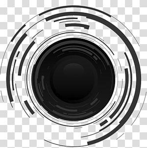 ícone de lente de câmera, lente de câmera, câmera SLR PNG clipart