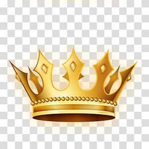 coroa de ouro, coroa, coroa de ouro PNG clipart