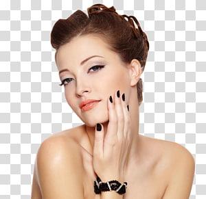 mulher tomando selfie, unha modelo penteado salão de beleza de moda, moda europeia e americana mulheres bonitas PNG clipart