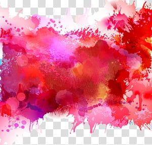 Pintura em aquarela Ilustração, aquarela, ilustração abstrata PNG clipart
