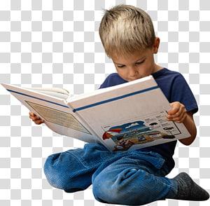 livro de leitura menino, lendo livro infantil, criança PNG clipart