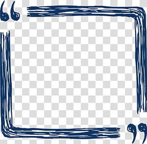 ilustração de quadro preto, arquivo de computador de cotação, caixa de referência para desenho de linha png