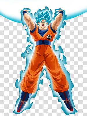 Goku Vegeta Majin Buu Super Saiyajin Genkidama, Genki dama png