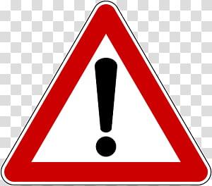 ilustração de sinal de advertência vermelho, branco e preto, sinal de trânsito Sinal de aviso Sinal de rua, sinal de trânsito png