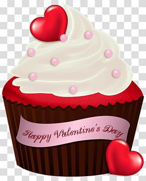 cupcake brownie de chocolate, bolo de aniversário do dia dos namorados, bolo de dia dos namorados png
