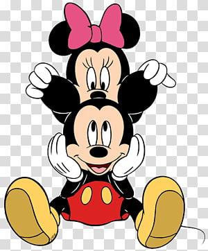 Minnie e mickey mouse ilustração, minnie mouse mickey mouse donald pato pluto pete, minnie mouse PNG clipart
