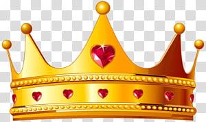 Coroa da rainha Elizabeth, a rainha mãe, coroa dourada com corações, ilustração de coroa dourada PNG clipart