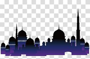 Arquitetura islâmica Mesquita Alcorão Muçulmano, igrejas islâmicas, ilustração de Mesquita PNG clipart