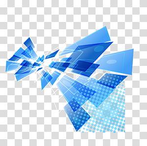 Ilustração moderna de fundo azul, azul e branca png