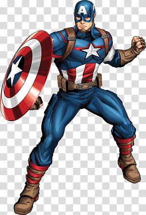 capitão américa ilustração, capitão américa super-herói homem de ferro luke gaiola crânio vermelho, capitão maravilha PNG clipart