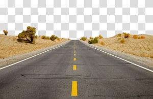 estrada de asfalto cinza, rio Tarim Deserto Taklamakan Condado de Minfeng Bacia de Tarim County Luntai, estrada deserta png