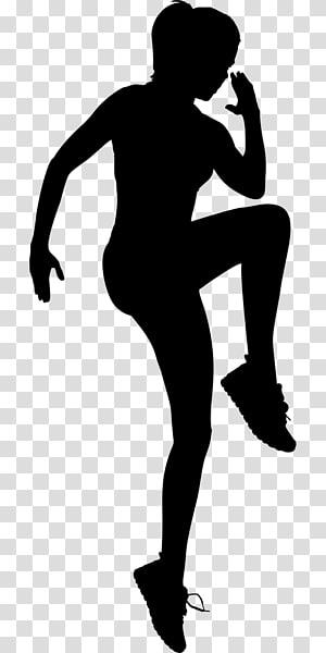 Aptidão física Exercício Fitness center Silhouette Woman, homem dos desenhos animados de treino png