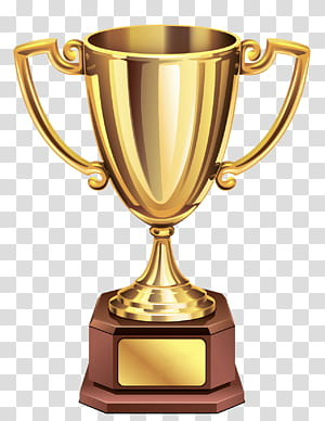 Troféu, troféu Gold Cup, troféu de ouro e marrom PNG clipart