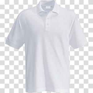 ilustração de camisa polo branca, camisa polo camiseta branco vestuário Top, camisa polo PNG clipart