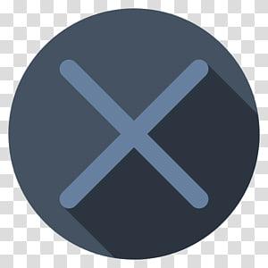 letra x logotipo, círculo de símbolo de ângulo, Playstation cross dark PNG clipart