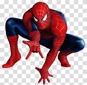 ilustração vermelha e azul do Homem-Aranha, Homem-Aranha Adesivo Adesivo de Parede Super-herói, Homem-Aranha png