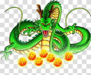 Dragon Ball Heroes de Shenron Goku Dende Gotenks, dragon ball z, Dragon Ball Z Shenron png
