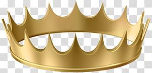 coroa de ouro com fundo azul, coroa de ouro, coroa de ouro PNG clipart