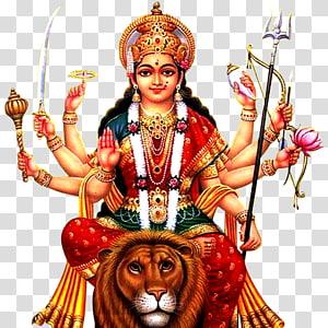 Ilustração do Deus Hindu, Krishna Shiva Ganesha Durga Puja, durga PNG clipart