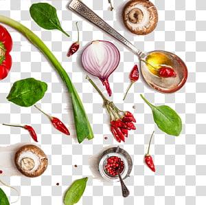 ilustração de receita, comida orgânica comida chinesa comida de saúde vegetal, uma variedade de vegetais criativos PNG clipart