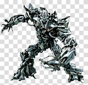 Megatron, Megatron Optimus Prime Transformadores caídos Decepticon, Transformadores de prata png