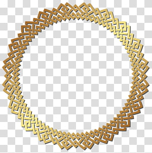 Círculo de ouro, armação de borda dourada redonda, armação de borda de ouro redonda PNG clipart