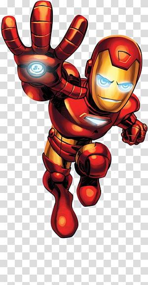 desenhos animados de homem de ferro, esquadrão de super herói de marvel homem de ferro hulk homem-aranha super-herói, esquadrão de super herói png