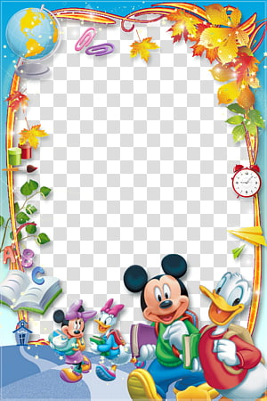 Disney Mickey Mouse, Mickey Mouse Minnie Mouse Daisy Duck Donald Duck quadros, quadro PNG clipart