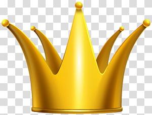 ilustração de coroa de ouro, coroa, coroa de ouro PNG clipart