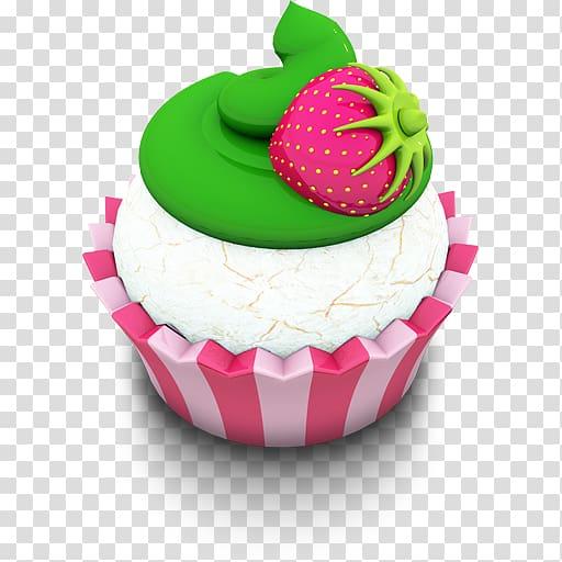 ilustração de cupcake, cobertura de panificação sobremesa sobremesa pasteles frutas, cupcake de baunilha png