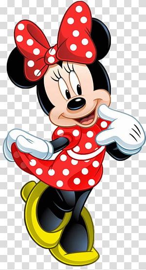 Ilustração de Minnie Mouse, Minnie Mouse Mickey Mouse Daisy Duck, Minnie PNG clipart