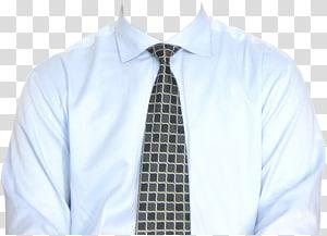 homem de camisa branca e gravata preta, camisa de vestido camiseta, camisa de vestido PNG clipart
