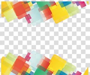 Linha geometria euclidiana Forma geométrica, geometria abstrata, arte digital em amarelo, verde e vermelho PNG clipart