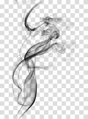 Fumaça de tinta, fumaça preta, ilustração de fumaça preta PNG clipart
